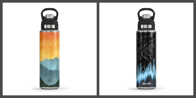Tervis Drinkware Has Fully Customized Wide Mouth Water Bottles For 30% Off, Or 40% Off When Spending At Least $50