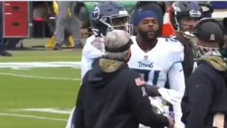 Titans' Malcolm Butler Seen Cursing Out Ravens HC John Harbaugh During Heated Confrontation Before Game