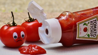 This Timelapse Of What Happens To Ketchup Left Sitting Out For 21 Days Is Trippy AF