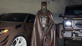 Travis Scott Deletes IG After Fans Clown On Him For His Poop-Colored Batman Costume