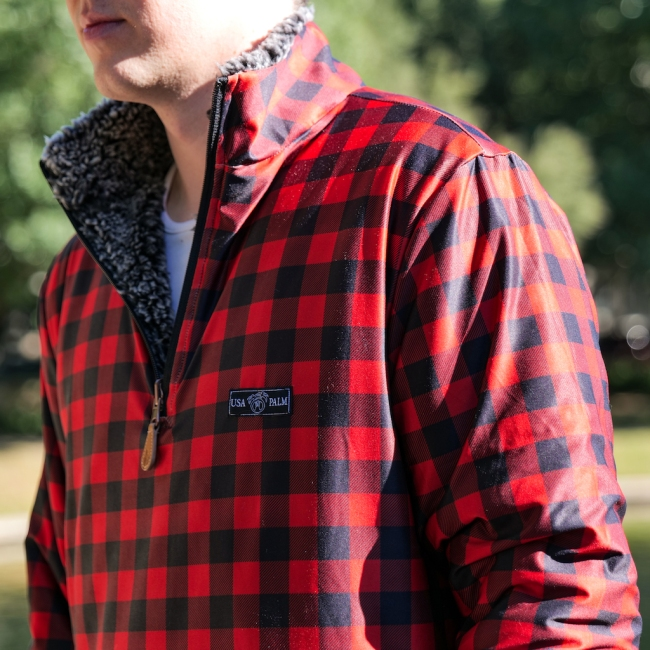 USA Palm sherpas and flannels