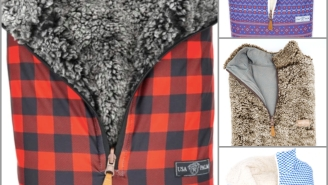 USA Palm Has Comfy AF Reversible Sherpas And Fleeces That Are Guaranteed To Enhance Your Winter Snuggle Game