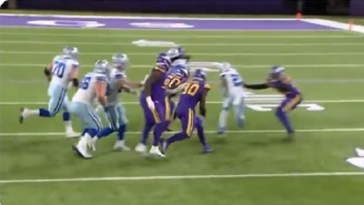 Vikings Fans Want Team To Cut CB Chris Jones After Extremely Poor Tackle Attempt May Have Cost Team The Game Vs Cowboys