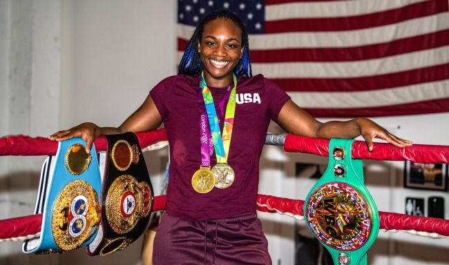 2-Time Olympic Gold Medalist Boxer Claressa Shields Making Move To MMA