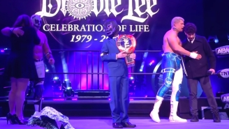 AEW's Touching Final Tribute To Brodie Lee Is Heartbreaking To Watch