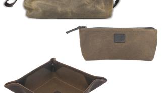 The Texas Standard Pioneer Bundle – Waterproof Waxed Canvas + 100% Genuine Leather