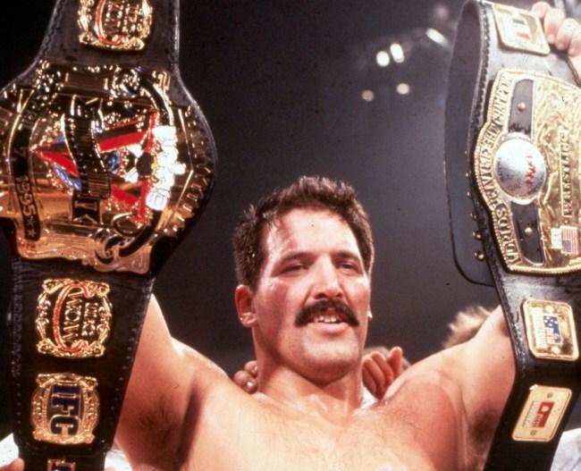 Dan Severn UFC NWA Champion