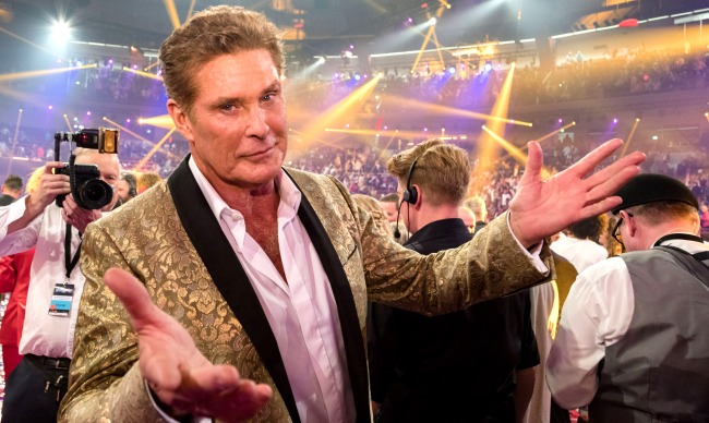 David Hasselhoff New Metal Song And Music Video Through The Night