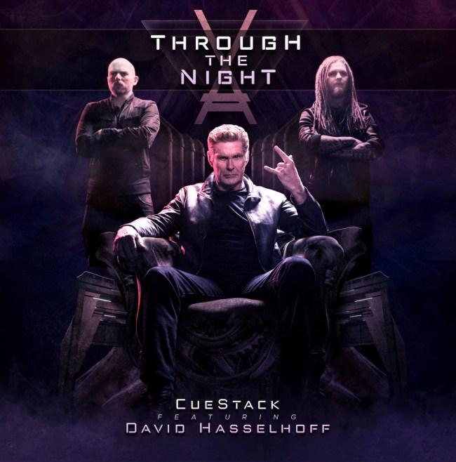 David Hasselhoff New Metal Song Music Video Through The Night