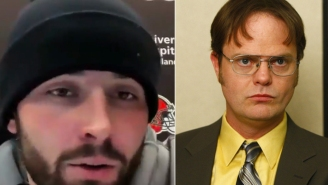 Baker Mayfield Uses Hilarious Dwight Schrute Quote During Press Conference To Explain Play-Making Ability This Season