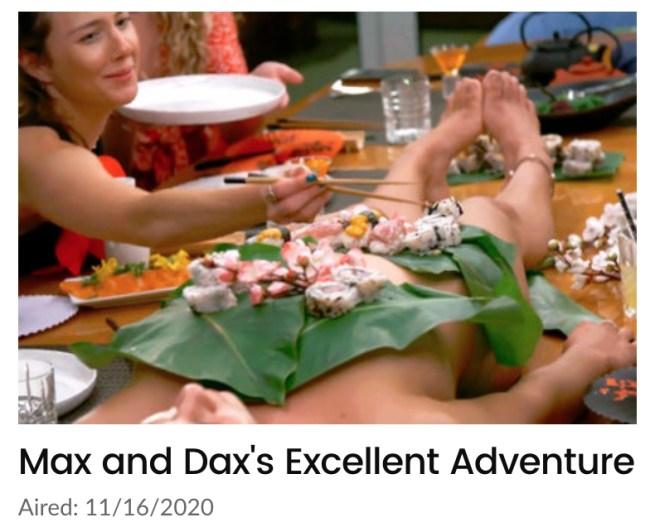 Sushi Max Gilliam Below Deck