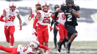 Brenden Rice, The Son Of Jerry Rice, Scored Two Touchdowns For Colorado And Might Be Bigger, Faster Than His Father