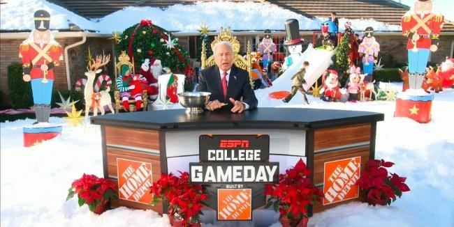 Lee Corso Christmas