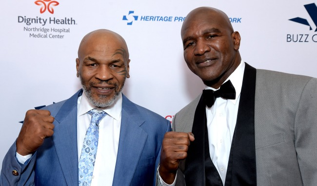 Evander Holyfield Calls Out Mike Tyson Jones Was Just A Tune-Up