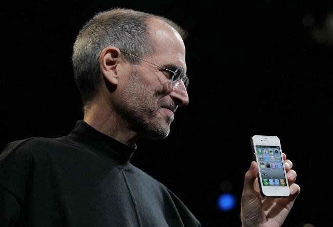 Steve Jobs 2010 black turtleneck sweater