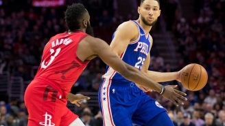 NBA Fans React To Ben Simmons' Cryptic Tweet Amid Rumors That The Sixers Are Willing To Trade Him For James Harden