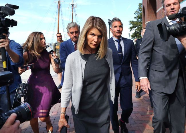 Full House star Lori Loughlin released from prison.