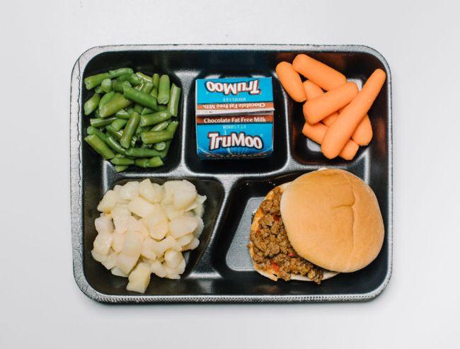 Sloppy Joe School Lunch