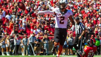 Tylan Wallace Opts Out Of The Cheez-It Bowl At Halftime, Marking The First Mid-Game Opt Out In College Football