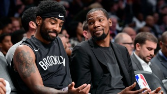 NBA Fans React To Kyrie Irving And Kevin Durant Having Disagreement About How To Run The Nets Offense During Discussion On IG Live
