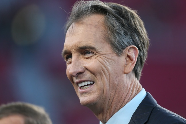 NBC's Chris Collinsworth Gets Criticized Over His Comments About Women During Ravens-Steelers Game