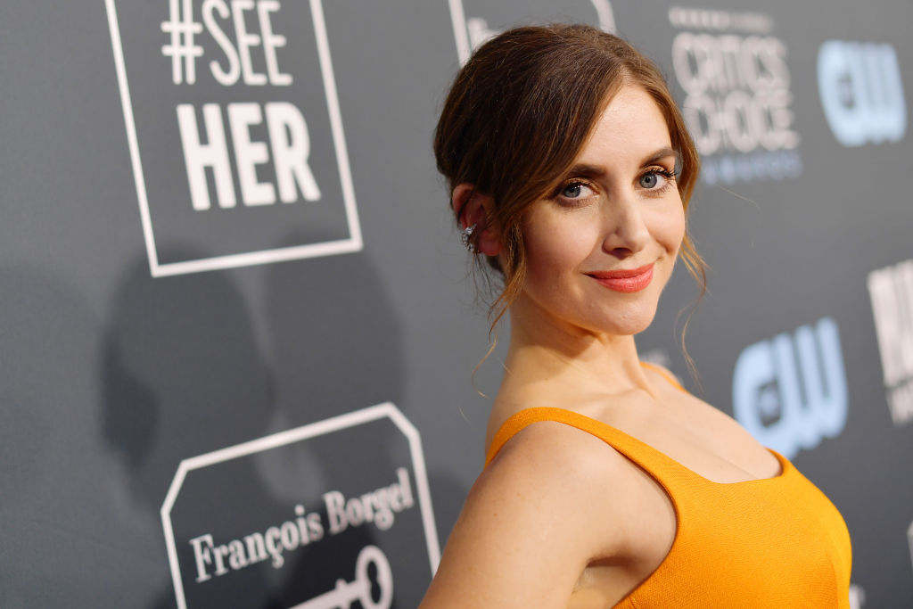 That time Alison Brie peed her pants while filming 'Mad Men'