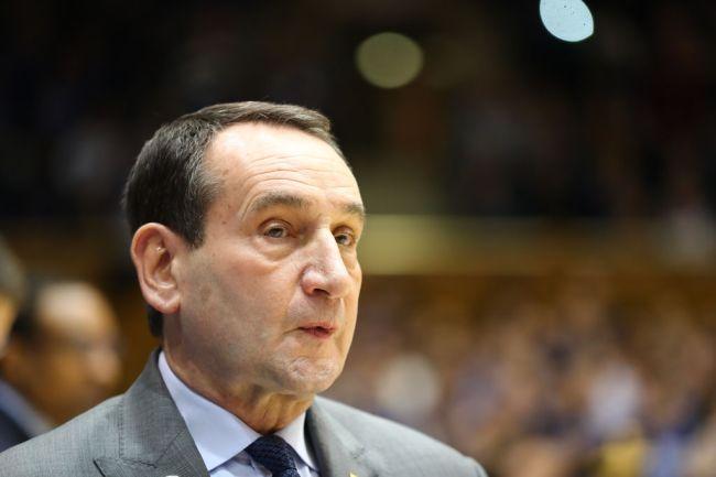 Duke Basketball Coach K Mike Krzyzewski Mike