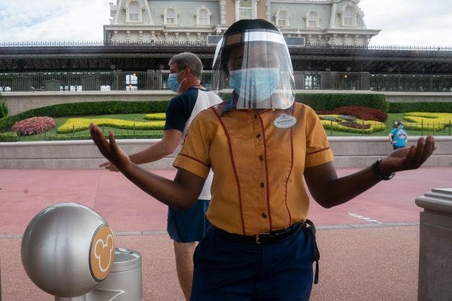 Disney World Face Masks policy