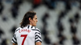 Manchester United's Edinson Cavani Faces Three-Match Ban For Using Racial Term On Instagram