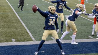 Akron Football Ended The Nation's Longest Losing Streak At 21 Games By Beating Bowling Green In A Blizzard