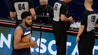 Timberwolves' Karl-Anthony Towns Gives Extremely Heartbreaking Quote While Talking About His Mother's Death After Team's First Win Of The Season