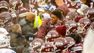 A Nasty Brawl Broke Out Between Mississippi State And Tulsa, But Mike Leach Didn't Seem To Care