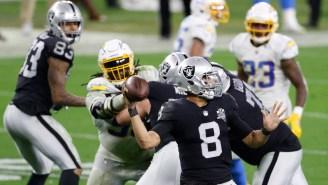 Raiders' Marcus Mariota Reportedly Drawing 'Legitimate' Trade Interest