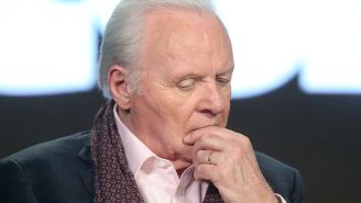 Anthony Hopkins Celebrates 45 Years Of Sobriety By Giving Words Of Wisdom After Almost 'Drinking Himself To Death'