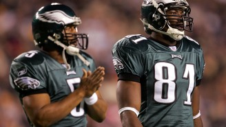 Terrell Owens Claims Donovan McNabb Partied On Night Before Super Bowl And Threw Up In The Huddle Because He Was Hungover