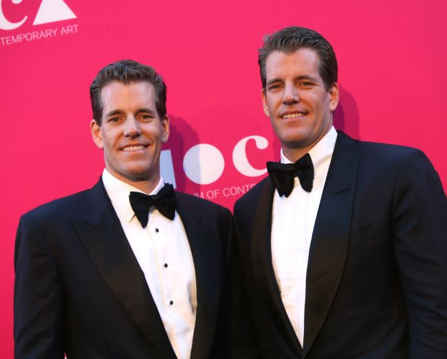 Bitcoin hits all-time high, Winklevoss twins expect to see '25x' gains from here