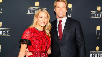Greg Olsen Continues To Be An Incredible Human, He And His Wife Helped Unveil A New Pediatric Heart Center At A Hospital In Charlotte