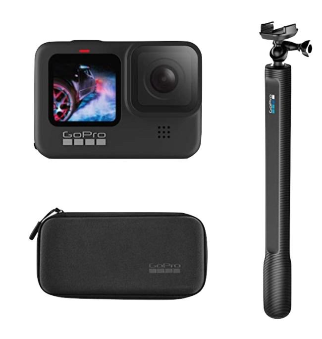 GoPro HERO9 Black Bundle with El Grande Mount