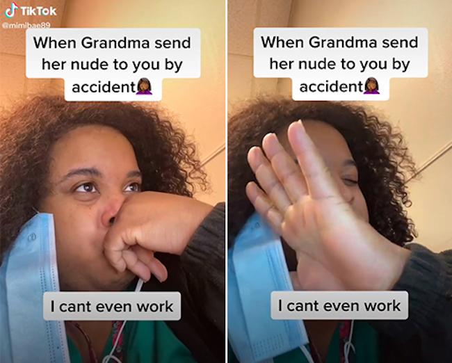 Grandma Accidental NSFW Pics