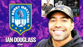 Biographer Ian Douglass Discusses Working With 'The Realest Guy In The Room' And Then With One Of The Smallest Guys In Wrestling