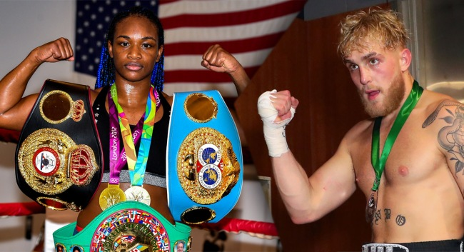 Jake Paul Calls Out LeBron Gronk To Fight Claressa Shields Responds