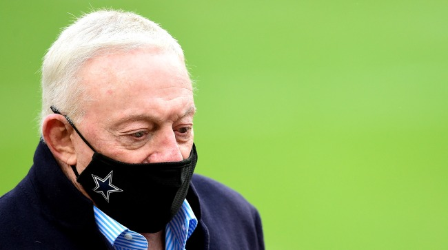 Jerry Jones Has Second Worst Won-Loss Record GMs 10 Years