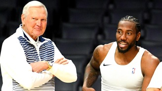 Jerry West Sued For $2.5M By Man Who Claims He Got Kawhi Leonard To Go To The Clippers