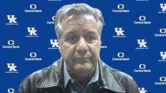 This Sad Photo Of John Calipari After Kentucky Dropped To 1-5 Deserves The Meme Treatment