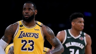 Lakers Fans Are Convinced Giannis Antetokounmpo Is Coming To LA After He  Called LeBron James His 'Idol'