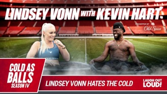 Lindsay Vonn Joins Kevin Hart On 'Cold As Balls' And Shares A Message To Him From The Rock