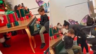 Mall Santa Brings Kid To Tears After Refusing To Bring Him A Nerf Gun For Xmas