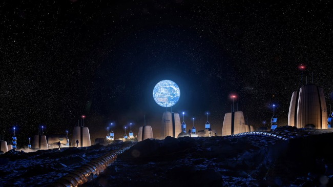 New Skyline Images Moon Colony Planned To House Astronauts