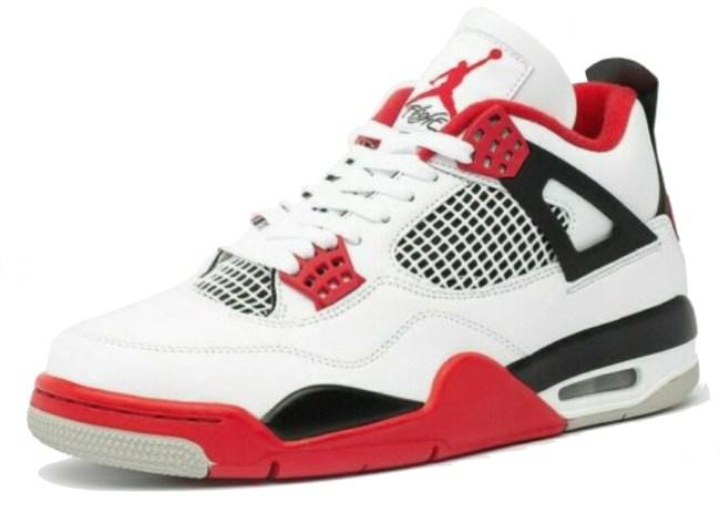 Nike Air Jordan Retro 4 Fire Red 2020