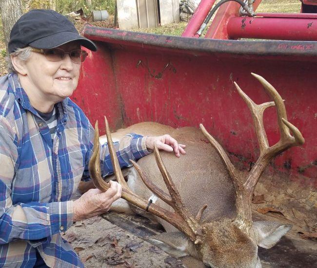 80 Year Old Grandma Deer